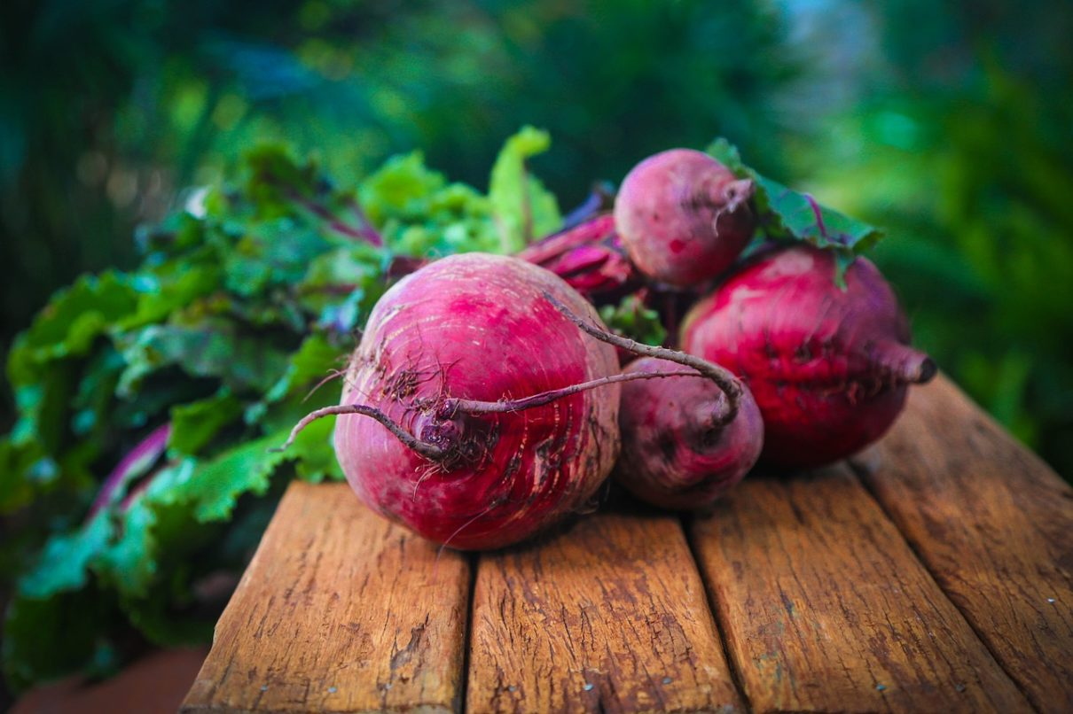 Beets are a well known and popular late spring vegetable