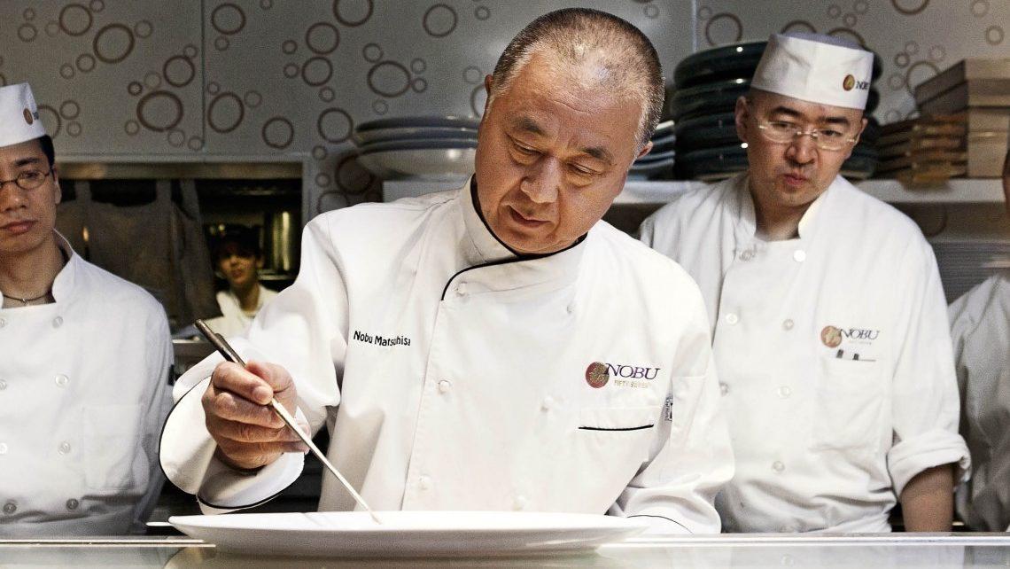 Chef Nobuyuki Matsuhisa